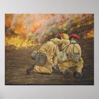 Firelineの友情 ポスター