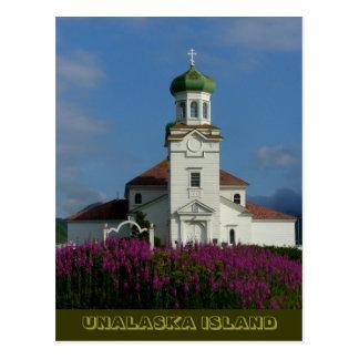 Fireweedとの夏のロシア正教 ポストカード