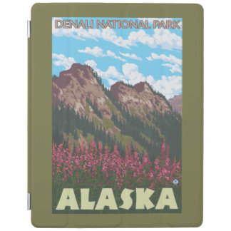 Fireweed及び山- Denaliの国立公園、 iPadスマートカバー