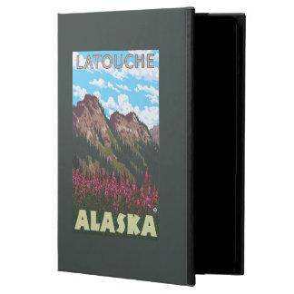 Fireweed及び山- Latouche、アラスカ iPad Airケース