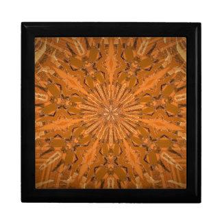 Fireyのオレンジの万華鏡のように千変万化するパターン ギフトボックス