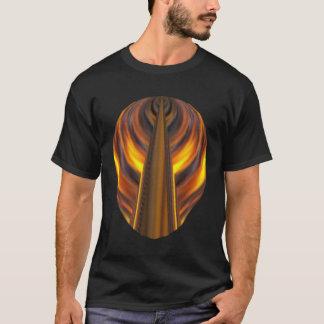 Fireyのデザインの黒いTシャツ Tシャツ
