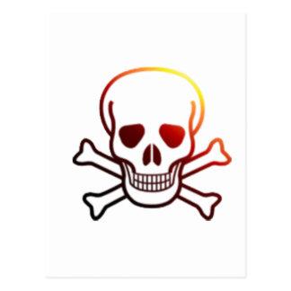 Fireyの海賊旗 ポストカード