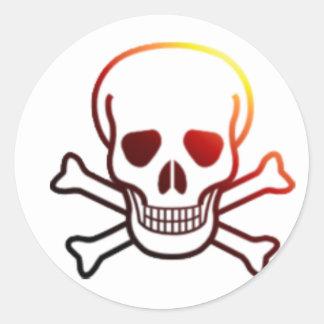 Fireyの海賊旗 ラウンドシール