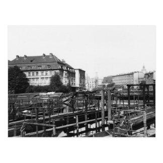 「Fischerinsel」からの眺め、ベルリン、c.1910 ポストカード