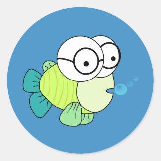 Fish氏 ラウンドシール