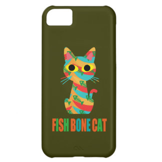 Fish Bone Cat iPhone5Cケース