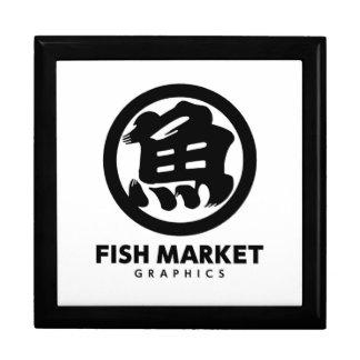 FISH MARKET GRAPHICS LOGO ギフトボックス