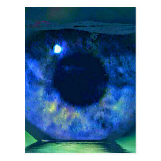 Fishbowlによって見る青い目 ポストカード
