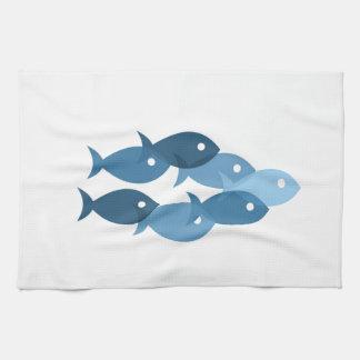 fishes5の飛行 キッチンタオル