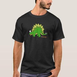 FishfryはステゴサウルスのユニセックスなTシャツの大人を設計します Tシャツ