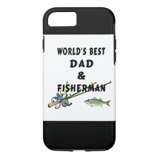 Fishing Father Best Dad iPhone 8/7ケース