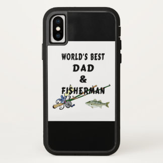 Fishing Father Best Dad iPhone X ケース