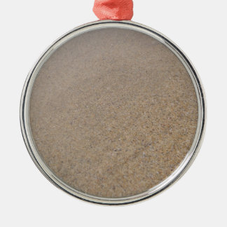 Fistralの砂 シルバーカラー丸型オーナメント