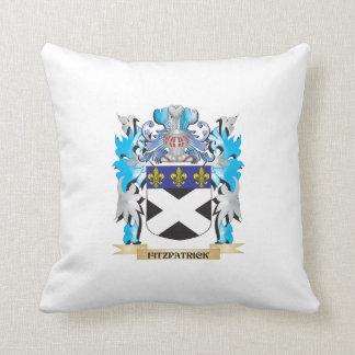Fitzpatrickの紋章付き外衣-家紋 クッション