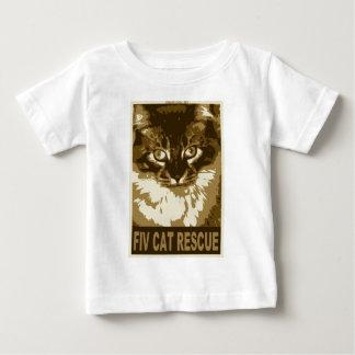 fiv-cat-rescue_2 ベビーTシャツ