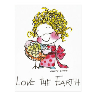 FL-003愛地球 ポストカード
