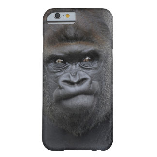 Flachlandgorillaのゴリラのゴリラ、 Barely There iPhone 6 ケース