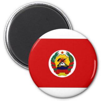 Flagモザンビークの大統領 マグネット