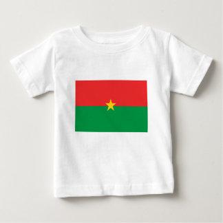 flag_burkina_farso ベビーTシャツ