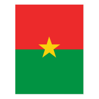 flag_burkina_farso ポストカード