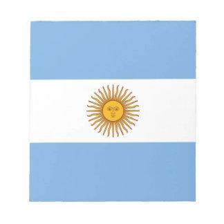 Flag_of_Argentina ノートパッド