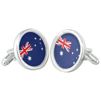 Flag of Australia カフブローチ
