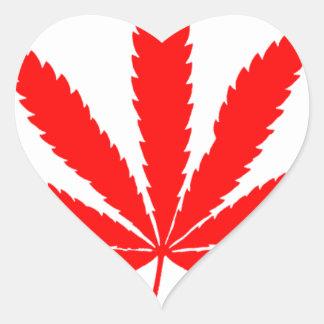 Flag_of_Canada 1 ハートシール