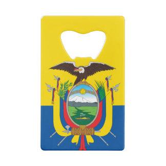Flag of Ecuador クレジットカード ボトルオープナー