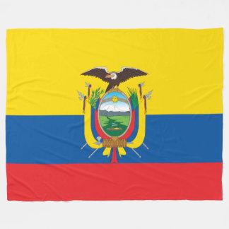 Flag of Ecuador フリースブランケット