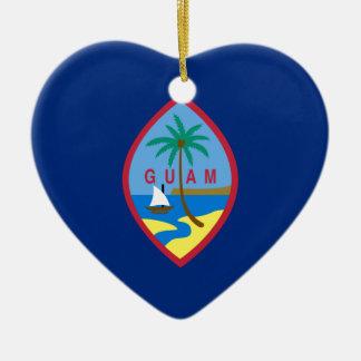 Flag_of_Guam セラミックオーナメント