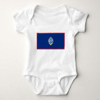 Flag_of_Guam ベビーボディスーツ