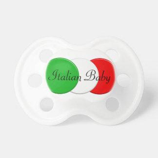 Flag of Italy. Italian Baby. おしゃぶり