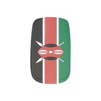 Flag of Kenya ネイルアート