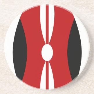 Flag_of_Kenya_ (盾 コースター