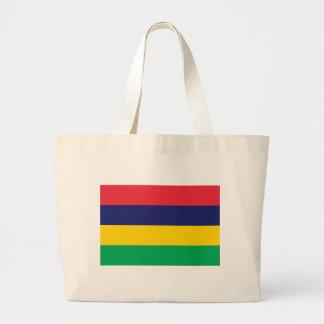 Flag_of_Mauritius ラージトートバッグ