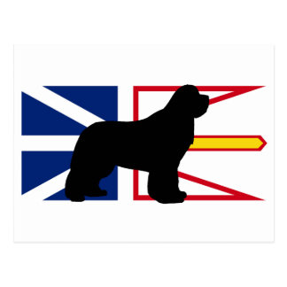 Flag_of_Newfoundland_and_Labrador.pのnewfieのサイロ ポストカード