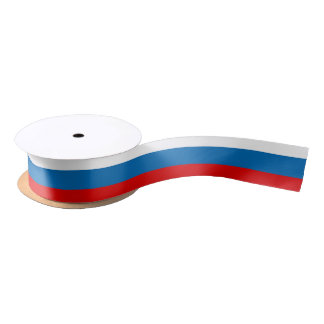 Flag of Russia サテンリボン