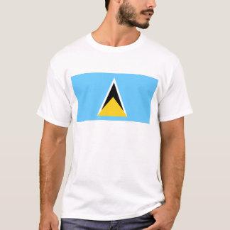 Flag_of_Saint_Lucia Tシャツ