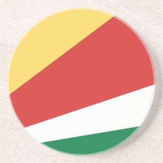 Flag_of_Seychelles コースター