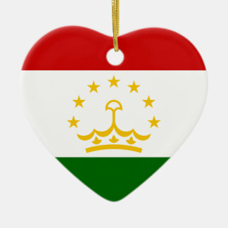 Flag_of_Tajikistan セラミックオーナメント