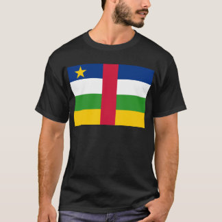 Flag_of_the_Central_African_Republic Tシャツ