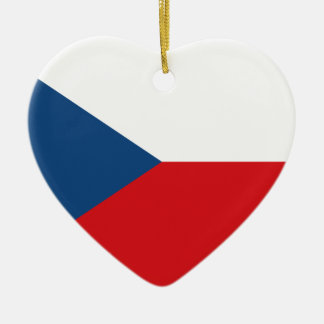 Flag_of_the_Czech_Republic セラミックオーナメント