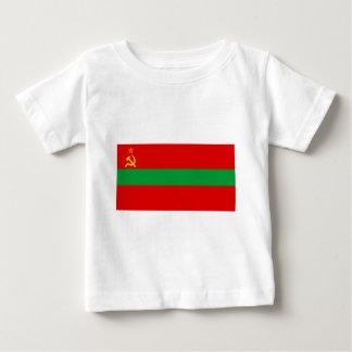Flag_of_Transnistria_ (国家) ベビーTシャツ