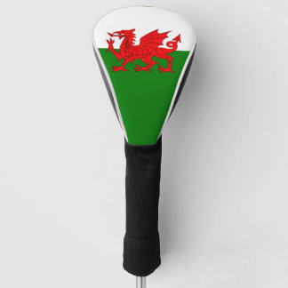 Flag of Wales ゴルフヘッドカバー