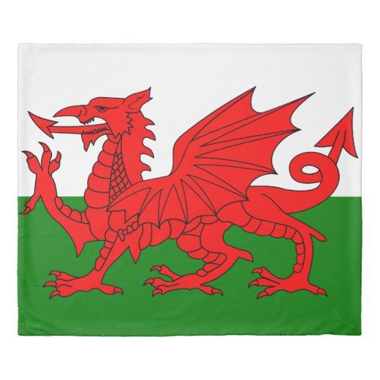 Flag of Wales King 掛け布団カバー