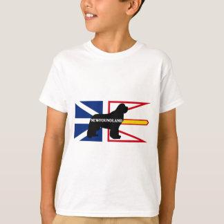 flag.pngのニューファウンドランドの一流のサイロ tシャツ