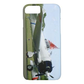 Flag_WWIIの飛行機が付いているレプリカゼロ iPhone 8/7ケース