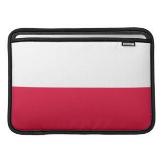 Flaga Polski -ポーランドの旗 MacBook スリーブ