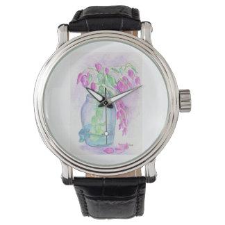 Flaglerのビーチのブーゲンビリア 腕時計